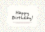 כרטיס ברכה happy birthday Friends